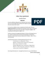 DG4Kids Table Talk Questions (April '12)