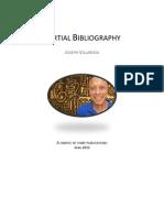Joseph Villarosa - Partial Bibliography