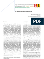 CRITÉRIOS COLABORATIVOS NA PRÁTICA DA TUTORIA ON-LINE - ISSN 2237/8693