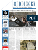 The Golddigger Issue 21 - April 2, 2012