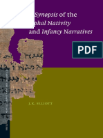 A Synopsis of the Apocryphal Nativity and Infancy Narratives New Testament Tools and Studies