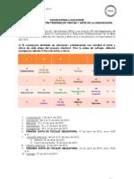 Convocatoria a Elecciones 2012 Mesas Directivas FEPUC