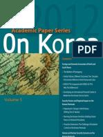 Preparing for Change in North Korea