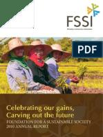 FSSI Annual Report 2010