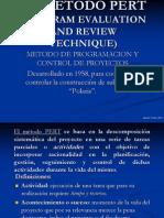 Planificacion de Proyectos Metodo PERT