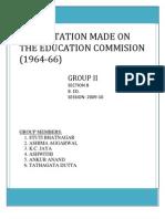 KOTHARI COMMISSION REPORT