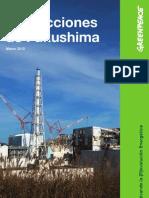 Las Lecciones de Fukushima
