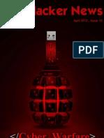 Cyber Warfare - The Hacker News Magazine April 2012 Edition