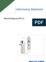 DICOMConformanceStatementMammoDiagnostDR