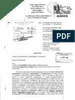 Denuncia in Procura Del 2 Aprile 2012