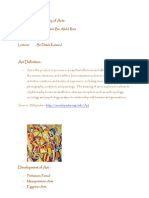 AAD 1130 History of Arts - Project Paper