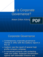 What+is+Corporate+Governance+Presentation Alison+Day+One