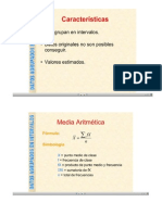 Medidas Tendencia Central Datos Agrupados
