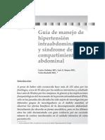hipertensionIntraabdominal