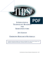 2011 International Technology Roadmap of r Semiconductor