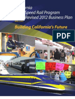 CA High Speed Rail Revised 2012 Business Plan