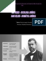 Max Weber e Hans Kelsen