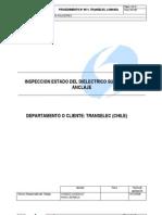 L200045Q Inspección estado del dielectrico suspensión o anclaje.