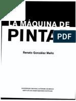 Gonzalez Mello- La máquina de pintar