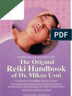 Mikao Usui Reiki El Kitabi