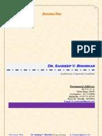 Dr Sandeep Binorkar 21.03