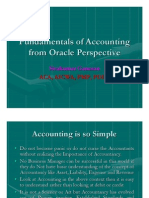 Basics of Accounting From Oracle Perspective