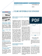 Pulse of Indian Economy