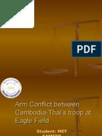 Preah Vihear Conflict Assignment