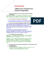 Manual Testing Question