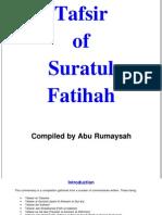 Tafsir Surah Fatihah