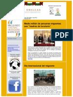 Boletín Electrónico Proyecto Dos Orillas Diciembre 2011