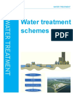 Water treatment schemes