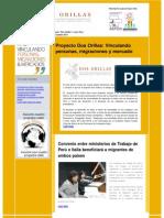 Boletín Electrónico Proyecto Dos Orillas Octubre 2011