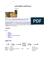 List of Germanic Deities and Heroes