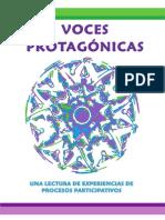 Voces Protagónicas. Una lectura de experiencias de procesos participativos
