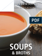 Potato Leek Soup Recipe from James Peterson's Kitchen Education Soups and Broths