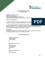 Informe Mensual de Actividades Erik Abraham Perez Quiroz