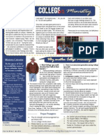 Pathway College Ministry - Newsletter April 2011