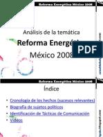 Informe Reforma Energética