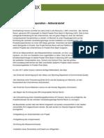 Uranerz Energy Corporation - Aktionärsbrief