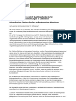 Familienministerium erstellt Qualitätsstandards für Elementarbildungseinrichtungen in Österreich