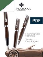2011 Diplomat Fachhandel Katalog / Catalogue