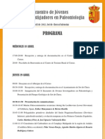 Programa XEJIP Sot de Chera Palaios