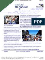 US Department of Labor - RegionNet stories