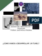 Clase 2 Perforacion Tunel
