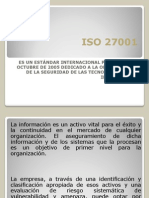 Expo Sic Ion ISO 27001
