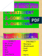 Direct and Indirect Speech Revs