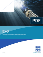 EXO Advanced Water Quality Monitoring Brochure