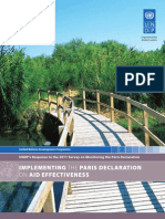 Implementing the Paris Declaration on Aid Effectiveness