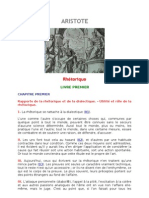 ARISTOTE_Rhétorique